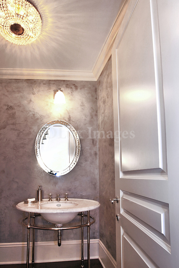 neoclassical luxury bathroom