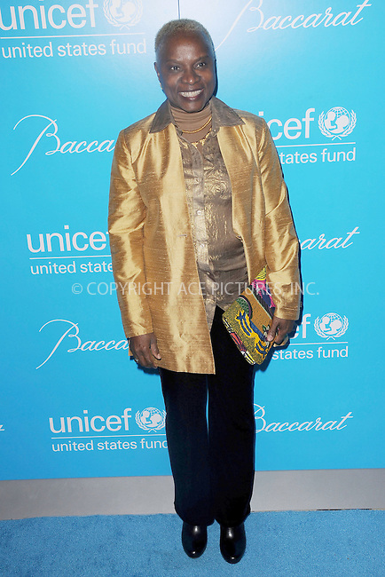WWW.ACEPIXS.COM . . . . . .November 27, 2012...New York City....Angelique Kidjo attends the Unicef Snowflake Ball at Cipriani 42nd Street on November 27, 2012 in New York City ....Please byline: KRISTIN CALLAHAN - ACEPIXS.COM.. . . . . . ..Ace Pictures, Inc: ..tel: (212) 243 8787 or (646) 769 0430..e-mail: info@acepixs.com..web: http://www.acepixs.com .