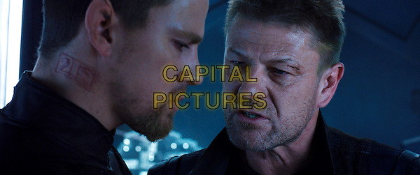 Channing Tatum, Sean Bean<br /> in Jupiter Ascending (2015) <br /> *Filmstill - Editorial Use Only*<br /> CAP/NFS<br /> Image supplied by Capital Pictures