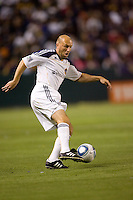 LA Galaxy midfielder Clint Mathis (84) moves with the ball. The LA Galaxy and Toronto FC played to a 0-0 draw at Home Depot Center stadium in Carson, California on Saturday May 15, 2010.  .