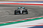 Mercedes AMG Petronas Motorsport driver Lewis Hamilton (44) of Great Britain in action during the Formula 1 Emirates United States Grand Prix practice session held at the Circuit of the Americas racetrack in Austin,Texas.