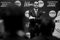 Luigi Di Maio presenta i candidati e le candidate per il M5S