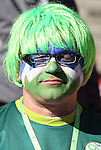 18 JUN 2010:  Slovenia fan in the stands.  The Slovenia National Team played the United States National Team at Ellis Park Stadium in Johannesburg, South Africa in a 2010 FIFA World Cup Group C match.