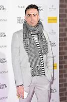 LONDON, UK. November 22, 2016: Nick Grimshaw at The Design Museum VIP launch party in Kensington, London.<br /> Picture: Steve Vas/Featureflash/SilverHub 0208 004 5359/ 07711 972644 Editors@silverhubmedia.com