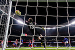 Goalkeeper Jan Oblak of Atletico de Madrid saves the ball during the La Liga 2018-19 match between Atletico de Madrid and Athletic de Bilbao at Wanda Metropolitano, on November 10 2018 in Madrid, Spain. Photo by Diego Gouto / Power Sport Images