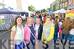 Pictured queuing for the Union J concert at Denny Street on Friday were, from left: Kasie O'Donnell, Clara Moran, Laura Devane, Ciara Lynch (all Tralee).