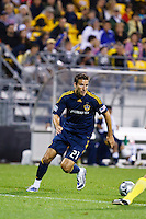 26 SEPTEMBAR 2009:  #21 Alan Gordon of the LA Galaxy during the Los Angeles Galaxy at Columbus Crew MLS game in Columbus, Ohio on May 27, 2009. Columbus defeated LA 2-0