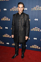 LONDON, UK. October 24, 2016: Alaa Safi at the &quot;Doctor Strange&quot; launch event at Westminster Abbey, London.<br /> Picture: Steve Vas/Featureflash/SilverHub 0208 004 5359/ 07711 972644 Editors@silverhubmedia.com