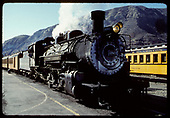 D&amp;RGW #480 excursion train in Durango.<br /> D&amp;S  Durango, CO