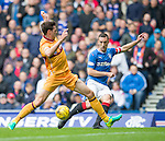 Lee Wallace nutmegs Ben Heneghan