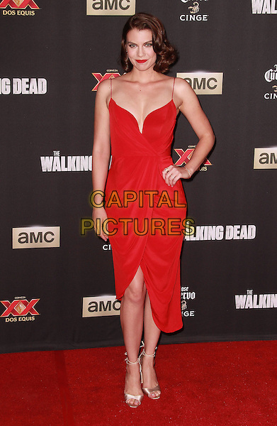 2 October 2014 - Universal City, California - Lauren Cohan attends AMC celebrates the season five premiere of its hit series, &ldquo;The Walking Dead,&rdquo;  at the  AMC Universal Citywalk Stadium 19/IMAX.  <br /> CAP/ADM/TBO<br /> &copy;Theresa Bouche/AdMedia/Capital Pictures