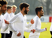 Marvin Plattenhardt (Deutschland Germany), Ilkay Guendogan (Deutschland, Germany) - 25.03.2018: Training der Deutschen Nationalmannschaft, Olympiastadion Berlin