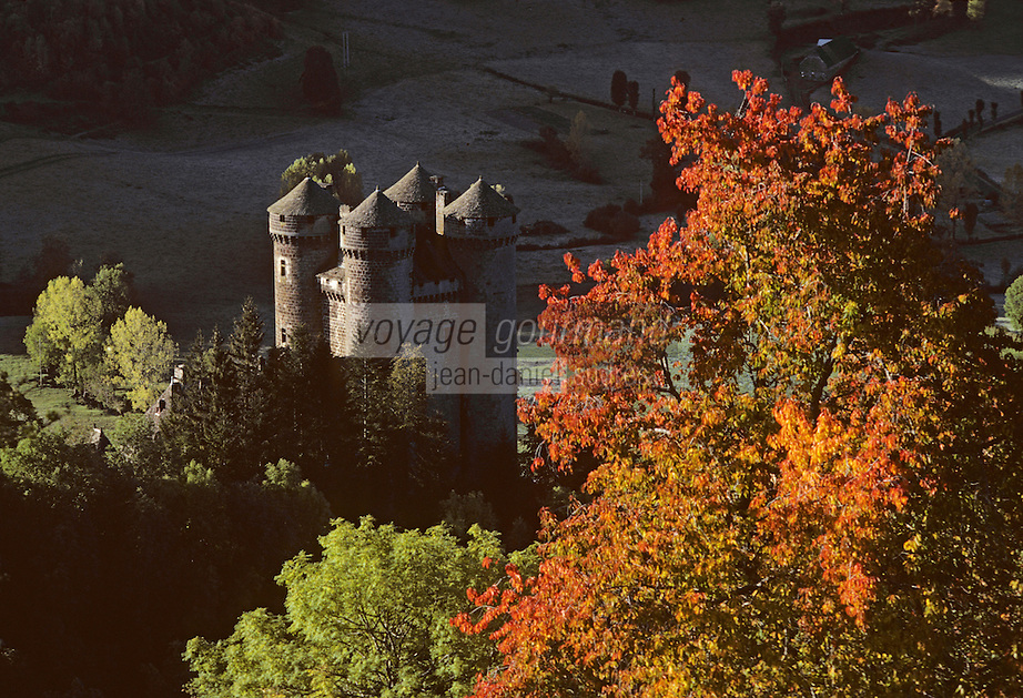 Europe/France/Auvergne/15/Cantal/Tournemire: Château d'Anjony XVe
