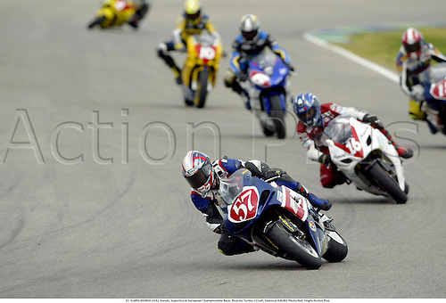 57. ILARIO DIONISI (ITA), Suzuki, Superstock European Championship Race, Ricardo Tormo Circuit, Valencia 030302 Photo:Neil Tingle/Action Plus...2003 .man men motorcycle motorcycles bike bikes......  ..
