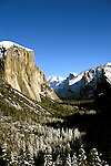 California: Yosemite Valley. View from Inspiration Point. Photo cayose103..Photo copyright Lee Foster, 510/549-2202, lee@fostertravel.com, www.fostertravel.com