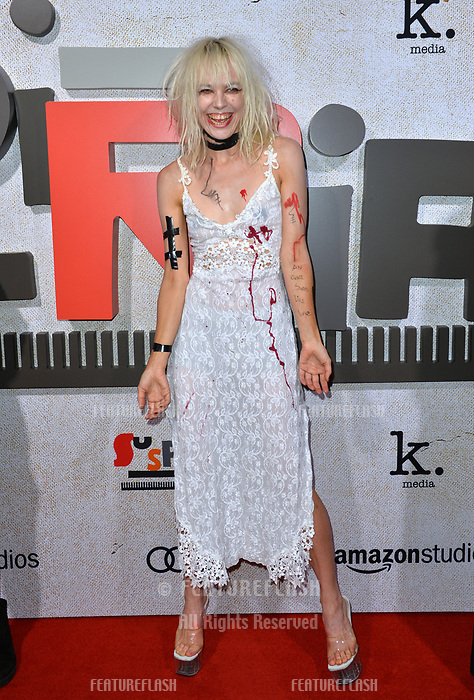 LOS ANGELES, CA. October 24, 2018: Kate Crash at the Los Angeles premiere for &quot;Suspiria&quot; at the Cinerama Dome.<br /> Picture: Paul Smith/Featureflash