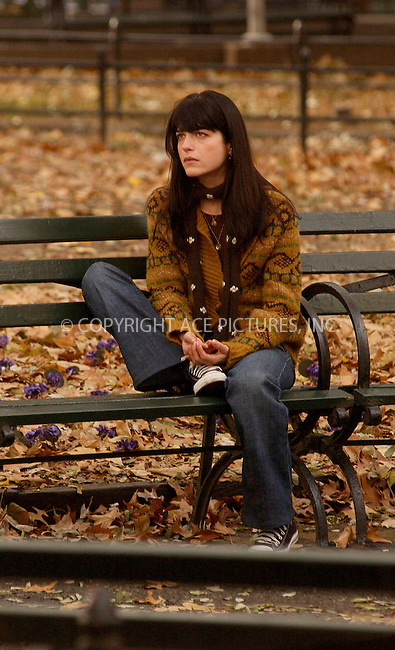WWW.ACEPIXS.COM . . . . . ....NEW YORK, NOVEMBER 29, 2005....Selma Blair on the set of 'Purple Violets' in Greenwich Village.....Please byline: KRISTIN CALLAHAN - ACE PICTURES.. . . . . . ..Ace Pictures, Inc:  ..Philip Vaughan (212) 243-8787 or (646) 679 0430..e-mail: info@acepixs.com..web: http://www.acepixs.com
