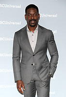 NEW YORK, NY - MAY 14: Sterling K. Brown at the 2018 NBCUniversal Upfront at Rockefeller Center in New York City on May 14, 2018.  <br /> CAP/MPI/PAL<br /> &copy;PAL/MPI/Capital Pictures