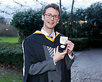 REPRO FREE<br /> 21/01/2015<br /> Woody Schiettecatte, France, BA Irish Music and Dance Irish World Academy of Music and Dance at the University of Limerick and also recipient of UL Co-Operative Education Award pictured as the University of Limerick continues three days of Winter conferring ceremonies which will see 1831 students conferring, including 74 PhDs. <br /> UL President, Professor Don Barry highlighted the increasing growth in demand for UL graduates by employers and the institution&rsquo;s position as Sunday Times University of the Year. <br /> Picture: Don Moloney / Press 22