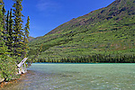 IMAGES OF THE YUKON,CANADA, KUSAWA LAKE