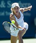 Caroline Wozniacki (DEN) defeats Agnieszka Radwanska (POL) 6-4, 7-6(5)
