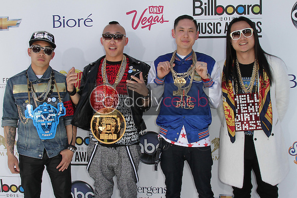 Far East Movement<br /> at the 2012 Billboard Music Awards Arrivals, MGM Grand, Las Vegas, NV 05-20-12<br /> David Edwards/DailyCeleb.com 818-249-4998