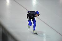 SCHAATSEN: GRONINGEN: Sportcentrum Kardinge, 02-02-2013, Seizoen 2012-2013, Gruno Bokaal, Mark Ooijevaar, ©foto Martin de Jong