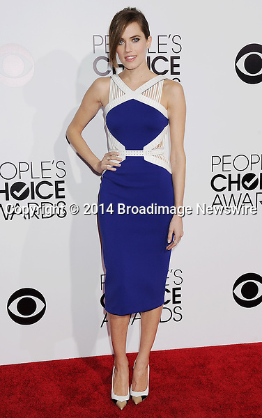 Pictured: Allison Williams<br /> Mandatory Credit &copy; Gilbert Flores /Broadimage<br /> 2014 People's Choice Awards <br /> <br /> 1/8/14, Los Angeles, California, United States of America<br /> Reference: 010814_GFLA_BDG_155<br /> <br /> Broadimage Newswire<br /> Los Angeles 1+  (310) 301-1027<br /> New York      1+  (646) 827-9134<br /> sales@broadimage.com<br /> http://www.broadimage.com