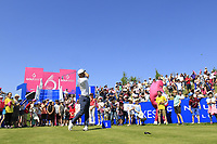 Roman Wattell of Team France during day 2 of the GolfSixes played at The Centurion Club, St Albans, England. <br /> 06/05/2018.<br /> Picture: Golffile | Phil Inglis<br /> <br /> <br /> All photo usage must carry mandatory copyright credit (&copy; Golffile | Phil Inglis)