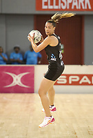 JOHANNESBURG, SOUTH AFRICA - JANUARY 28: Grace Kara in action during the Netball Quad Series netball match between Diamonds and Silver Ferns at the Ellis Park Arena in Johannesburg. Mandatory Photo Credit: ©Reg Caldecott/Michael Bradley Photography