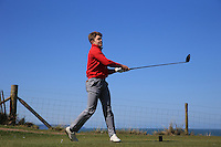 Henry Alls during Round Two of the West of England Championship 2016, at Royal North Devon Golf Club, Westward Ho!, Devon  23/04/2016. Picture: Golffile | David Lloyd<br /> <br /> All photos usage must carry mandatory copyright credit (&copy; Golffile | David Lloyd)
