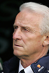 29 May 2008: Ireland head coach Giovanni Trapattoni (ITA). The Republic of Ireland Men's National Team defeated the Colombia Men's National Team 1-0 at Craven Cottage in London, England in an international friendly soccer match.
