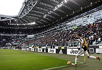 Calcio, Serie A: Juventus - Sassuolo, Torino, Allianz Stadium, 4 Febbraio 2018. <br /> Juventus' Miralem Pjanic in action during the Italian Serie A football match between Juventus and Sassuolo at Torino's Allianz stadium, February 4, 2018.<br /> UPDATE IMAGES PRESS/Isabella Bonotto