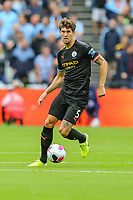 John Stones of Manchester City during the Premier League match between West Ham United and Manchester City at the London Stadium, London, England on 10 August 2019. Photo by David Horn.