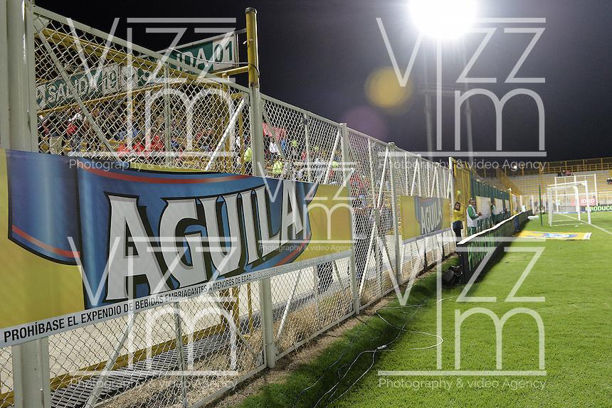 BOGOTÁ -COLOMBIA, 14-01-2015. Liga Aguila 2015. Photo: VizzorImage/ Gabriel Aponte / Staff