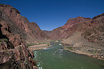 Phantom Ranch and the Silver Bridge, Colorado River in Grand Canyon National Park, Arizona .  John offers private photo tours in Grand Canyon National Park and throughout Arizona, Utah and Colorado. Year-round. . John offers private photo tours in Grand Canyon National Park and throughout Arizona, Utah and Colorado. Year-round.
