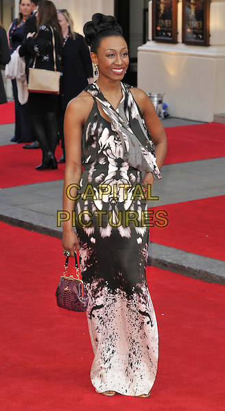 LONDON, ENGLAND - APRIL 13: Beverley Knight attends the Olivier Awards 2014, Royal Opera House, Covent Garden, on Sunday April 13, 2014 in London, England, UK.<br /> CAP/CAN<br /> &copy;Can Nguyen/Capital Pictures