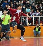 Liga ASOBAL.<br /> Fertiberia Puerto Sagunto vs Cuatro Rayas Valladolid.<br /> Polideportivo Municipal de El Puerto de Sagunto (Valencia-Espa&ntilde;a).<br /> 1-12-2012