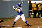 CHAPEL HILL, NC - FEBRUARY 24: Hampton's Taylor Clark. The Hampton University Pirates played the Towson University Tigers on February, 24, 2017, at Anderson Softball Stadium in Chapel Hill, NC in a Division I College Softball match. Towson won 17-2 in a five inning run-rule game.