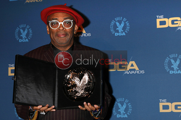 Spike Lee<br /> at the 71st Annual Directors Guild Of America Awards Press Room, Dolby Ballroom, Hollywood, CA 02-02-19<br /> David Edwards/DailyCeleb.com 818-249-4998