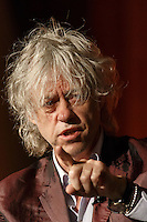 Sir Bob Geldof speaking about HIV and poverty at the 20th International AIDS Conference at the Melbourne Convention and Exhibition Centre on 24 July 2014 in Melbourne, Australia. This image is not for sale via this web site. Please visit http://demotix.com/ to license.