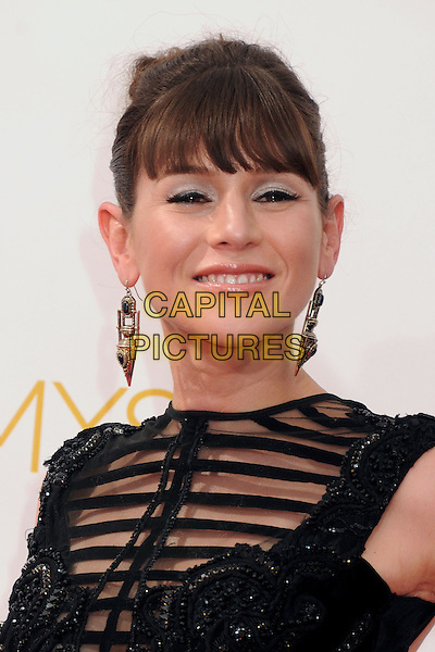 25 August 2014 - Los Angeles, California - Yael Stone. 66th Annual Primetime Emmy Awards - Arrivals held at Nokia Theatre LA Live. <br /> CAP/ADM/BP<br /> &copy;BP/ADM/Capital Pictures