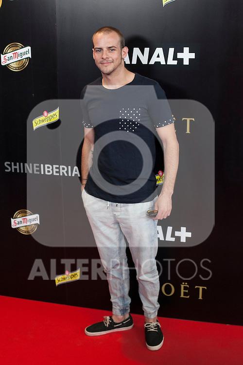 Alex Casademunt poses during Pacha `El arquitecto de la noche´ film premiere in Madrid, Spain. May 25, 2015. (ALTERPHOTOS/Victor Blanco)