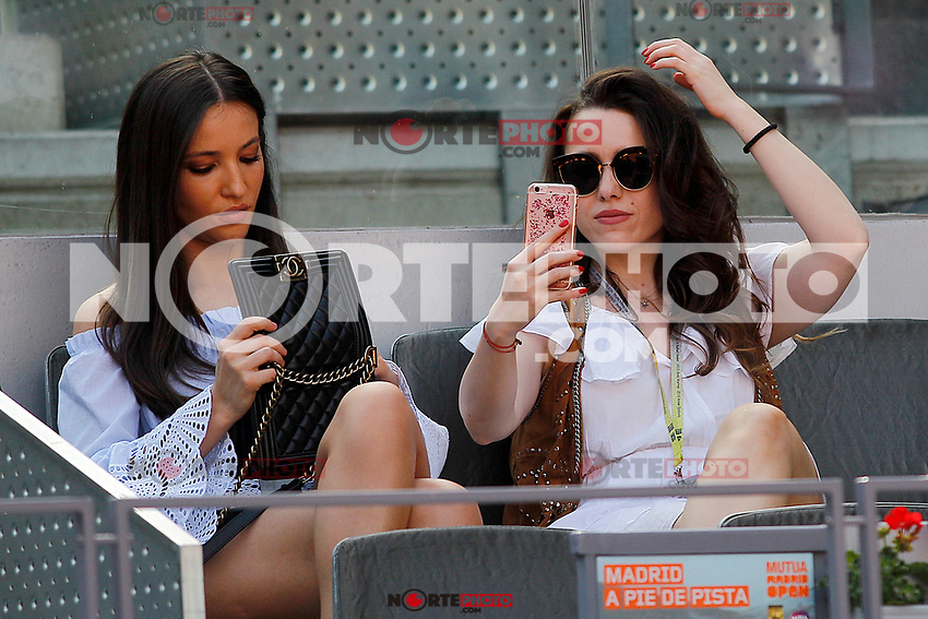 Tennis fans during Madrid Open Tennis 2017 match. May 8, 2017.(ALTERPHOTOS/Acero) /NortePhoto.com