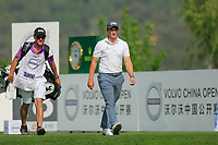 Paul Dunne (IRL) in action during the third round of the Volvo China Open played at Topwin Golf and Country Club, Huairou, Beijing, China 26-29 April 2018.<br /> 28/04/2018.<br /> Picture: Golffile | Phil Inglis<br /> <br /> <br /> All photo usage must carry mandatory copyright credit (&copy; Golffile | Phil Inglis)