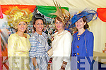 Pictured at Listowel Races, Ladies Day on Friday from left: Chris O'Shea (Doon, Tralee), Martha O'Donoghue (Brosna), Nollaig McCarthy-McEnery (Finuge), Maria O'Gara (Tralee).