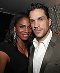 Audra McDonald & Will Swenson attending the Opening Night Performance After Party for the Manhattan Theatre Club's 'Murder Ballad' at Suite 55 in New York City on 11/15/2012