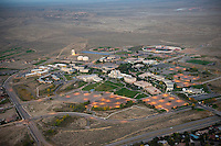 Twilight aerial of Colorado State University, Pueblo. Oct 2012