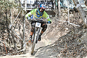 8th September 2017, Smithfield Forest, Cairns, Australia; UCI Mountain Bike World Championships; Jure Zabjek (SLO) riding for Unior Tools Team during downhill practice;