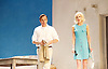 Sunset at the Villa Thalia <br /> by Alexi Kaye Campbell<br /> at Dorfman Theatre, National Theatre, Southbank, London, Great Britain <br /> <br /> 31st May 2016 <br /> press photocall <br />  <br /> <br /> directed by Simon Godwin<br />  <br /> <br /> <br /> <br /> Elizabeth McGovern as June <br /> <br /> Ben Miles as Harvey <br /> <br /> <br /> <br />  <br /> <br /> Photograph by Elliott Franks <br /> Image licensed to Elliott Franks Photography Services